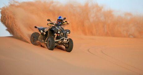 Desert Safari with ATV Quad Biking