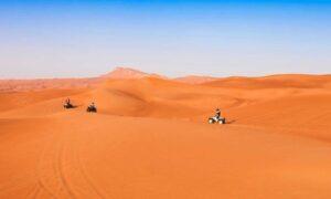 Up to 58% Off on VIP Evening Desert Safari + Quad Bike